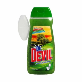 Devil wc gel 400ml + košíček