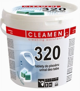 CLEAMEN 320 deo tablety do pissoáru 1,5kg
